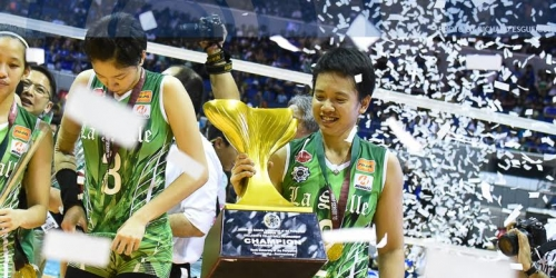 Sigh of relief for Fajardo after latest title for DLSU