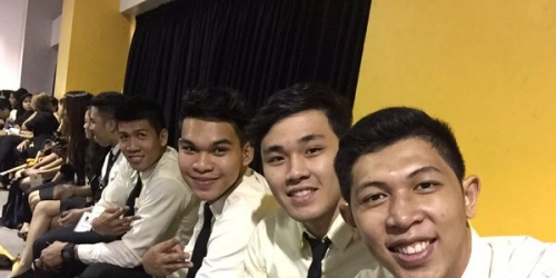 Growling Tigers take part in UST's 2016 Bacc mass