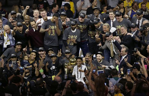 Nike releases an emotional ad to honor Cavs' title win