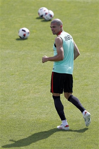 Pepe still an injury worry for Portugal