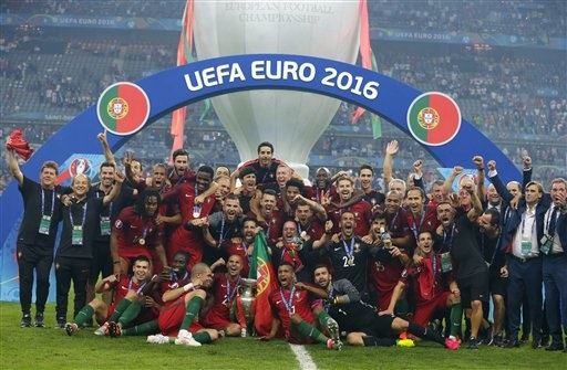 Portugal stuns host France to win cup despite Ronaldo injury