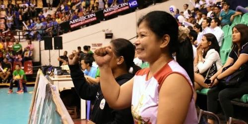 Special athlete returned for V-League finals