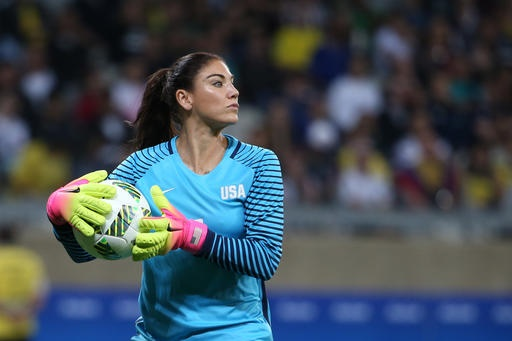 Hope Solo to appear in 200th game, a first for a goalkeeper