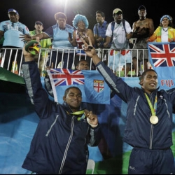 Fiji celebrates 1st-ever Olympic gold medal