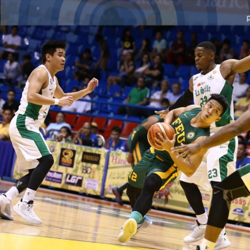 FEU�s Arong may have the answer for DLSU�s Mbala