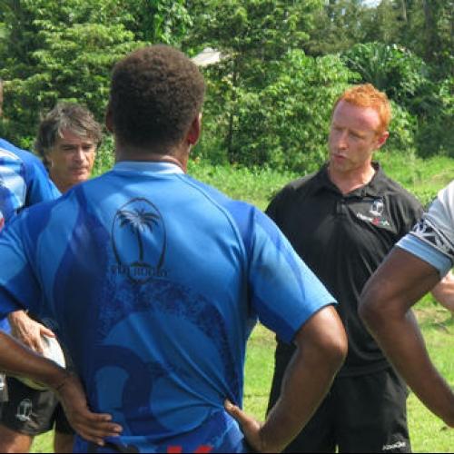 Coach Ben Ryan honored as Fiji celebrates gold medal