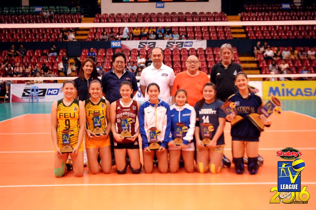 First-timers dominate V-League special awardees