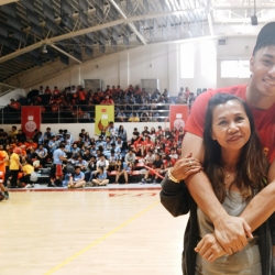 CJ Isit's mother flies in from Canada to watch the Final 4