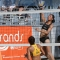 Lady Spikers edge Lady Tams in beach volley