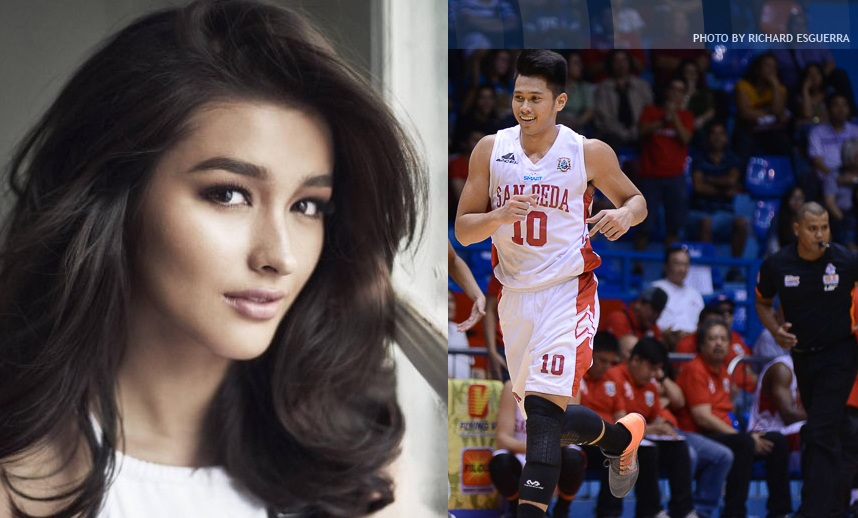 Liza Soberano congratulates 'Ja-vee' Mocon for NCAA title