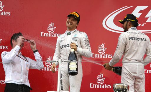Advantage Hamilton in first US GP practice