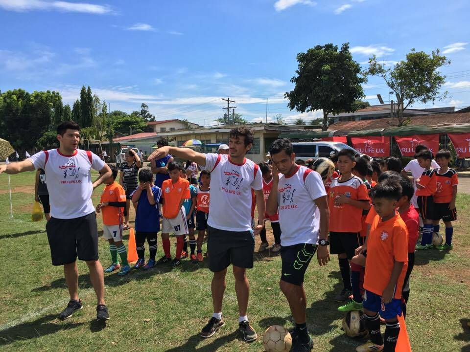 Football for a Better Life goes to Tagum City