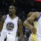 Curry and Durant catch fire, shoot down Blazers
