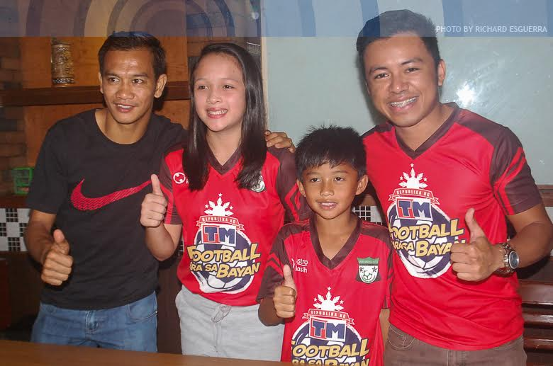 Young Pinoy footballers to train with FC Bacelona