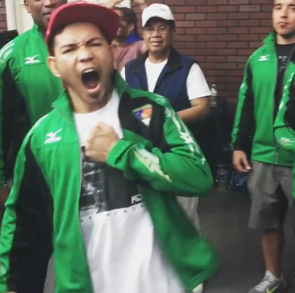 Watch Nonito Donaire get hyped for his upcoming title bout