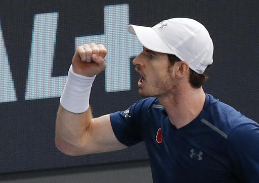 Top ranking may have to wait until next year, says Murray