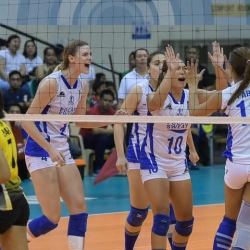 Lady Warriors tame Tigresses, close in on Finals spot