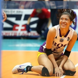 We played as a team -- Alyssa Valdez on BoC's win