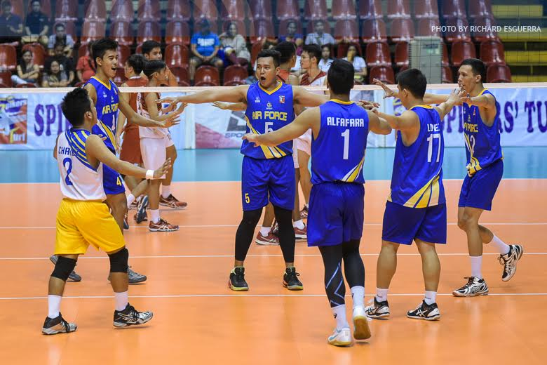 Air Force draws first blood, drops Cignal in series opener