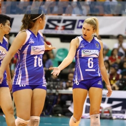 BaliPure cops third place trophy in sweep of UST