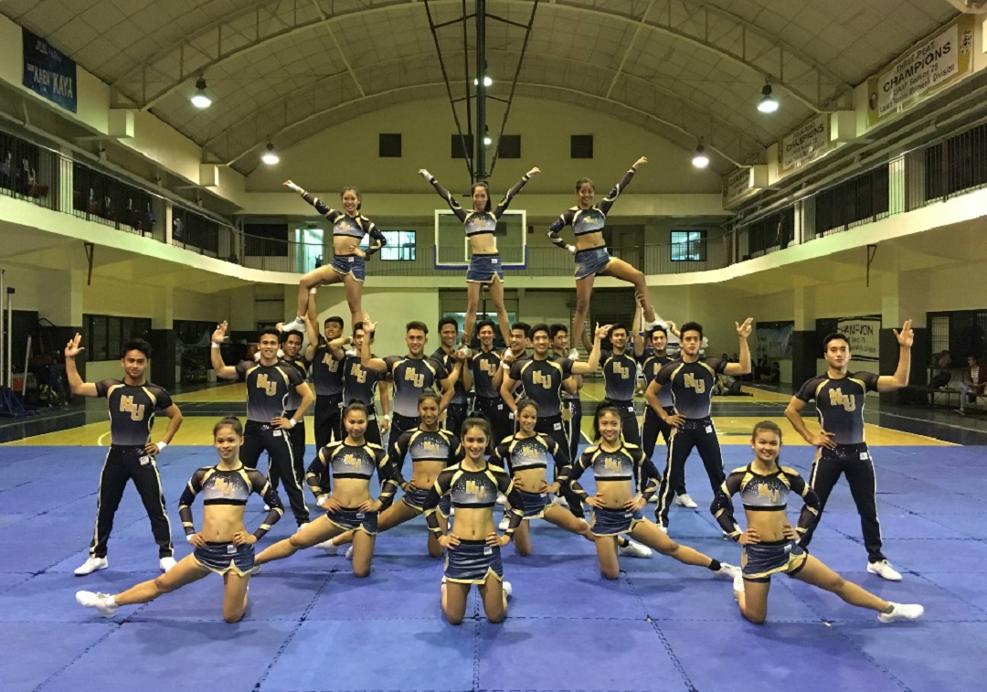 Three-time champion NU Pep Squad hungry for more