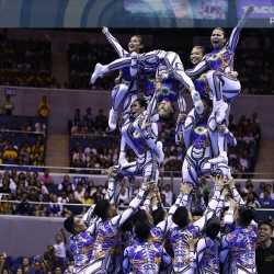 NU leaves no doubt in claiming four-peat in UAAP Cheerdance