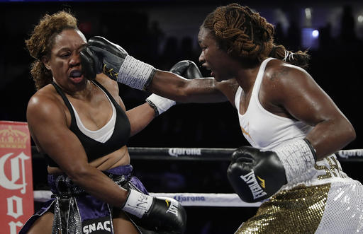 Claressa Shields fights as a pro, fresh off 2nd Olympic gold