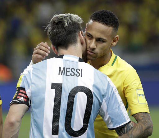 Messi, Neymar, Robson-Kanu go for FIFA award