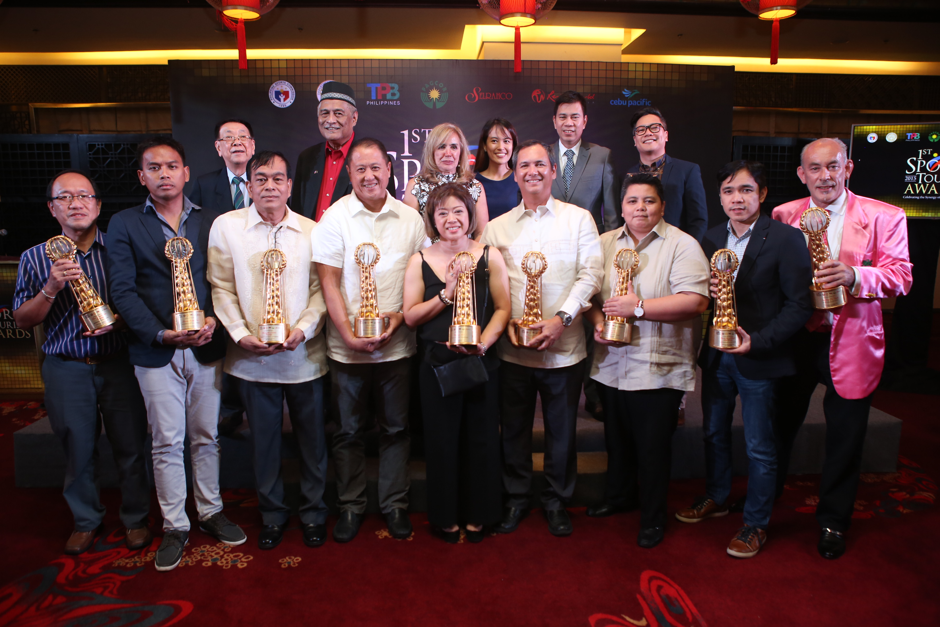 Best industry efforts honored in PH Sports Tourism Awards