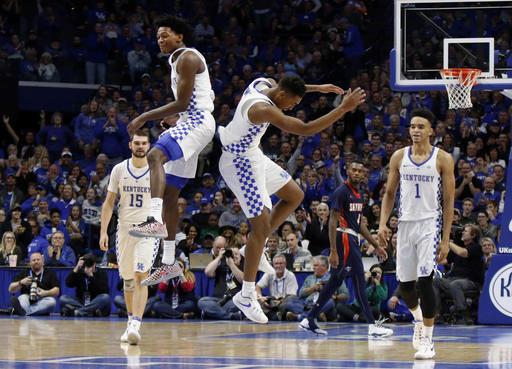 De'Aaron Fox Makes Kentucky Basketball History