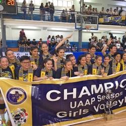 NU cops golden double in high school volleyball