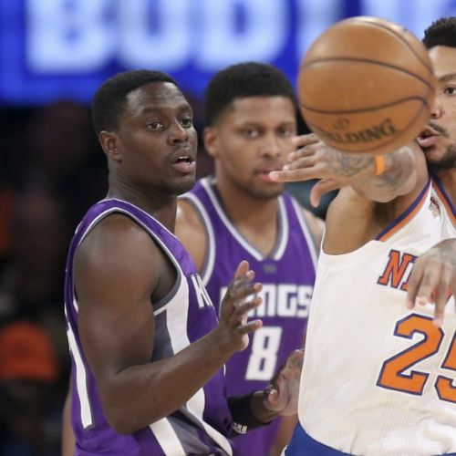 Knicks hold off Kings, notch eighth win in 11 games