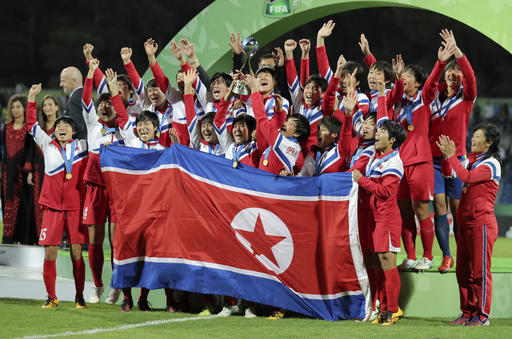 North Korea revels in double victories in women's World Cups