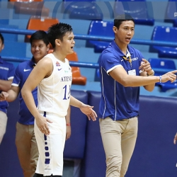 NU homecoming for Danny I as one of Jarin's assistants