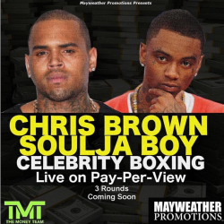 Chris Brown to box Soulja Boy over social media feud