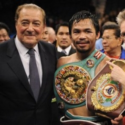 Arum hopes to get as many fights out of Manny during breaks