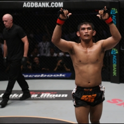 Burmese countrymen motivate Aung La to win world title