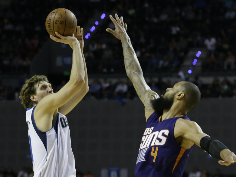 Image result for mavs suns mexico city jan. 13