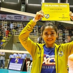 Libero Jen Reyes set to join former NU teammates at Foton