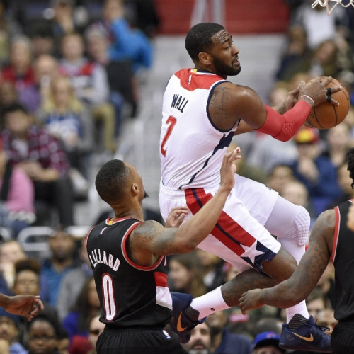 Wizards get hot from beyond the arc to beat Trail Blazers