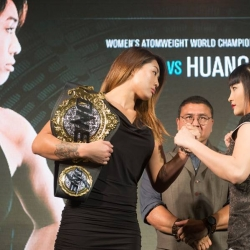 Angela Lee, Jenny Huang face off at ONE presser in Bangkok