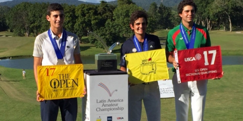 Chile amateur goes from no big victories to Masters