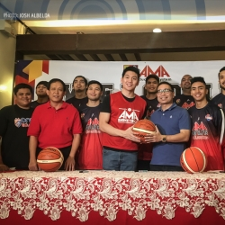 Teng thrilled to carry AMA to contention in PBA D-League