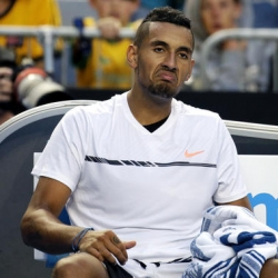Kyrgios withdraws from doubles at Australian Open