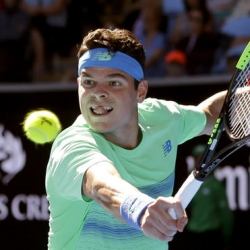 Raonic continues streak by reaching 3rd round in Australia