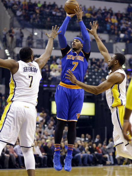 Knicks hold off Pacers' late charge | ABS-CBN Sports