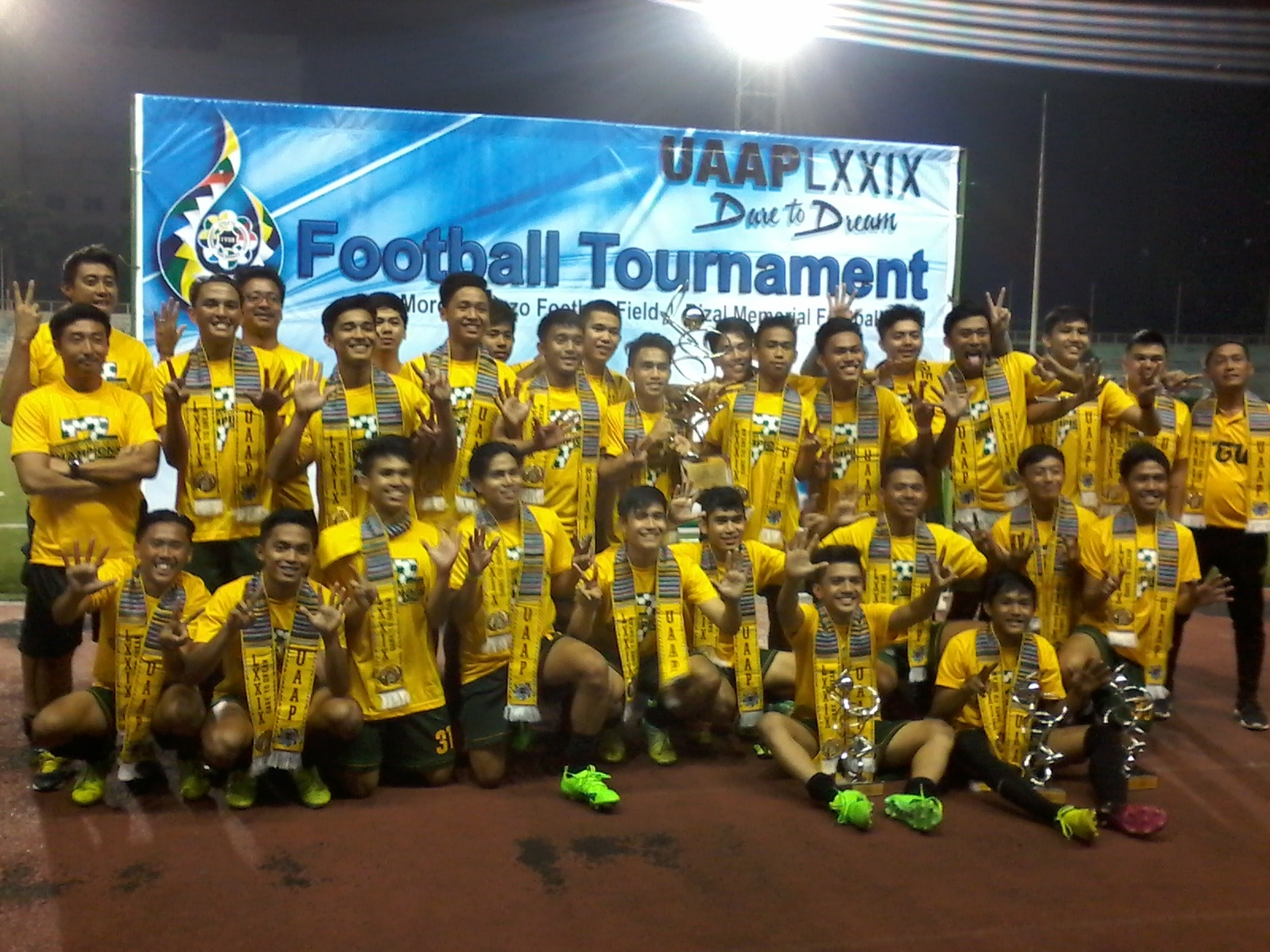 Baby Tams complete 7-peat in UAAP jrs. football