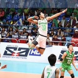 De Guzman wins NCAA men's volleyball MVP award