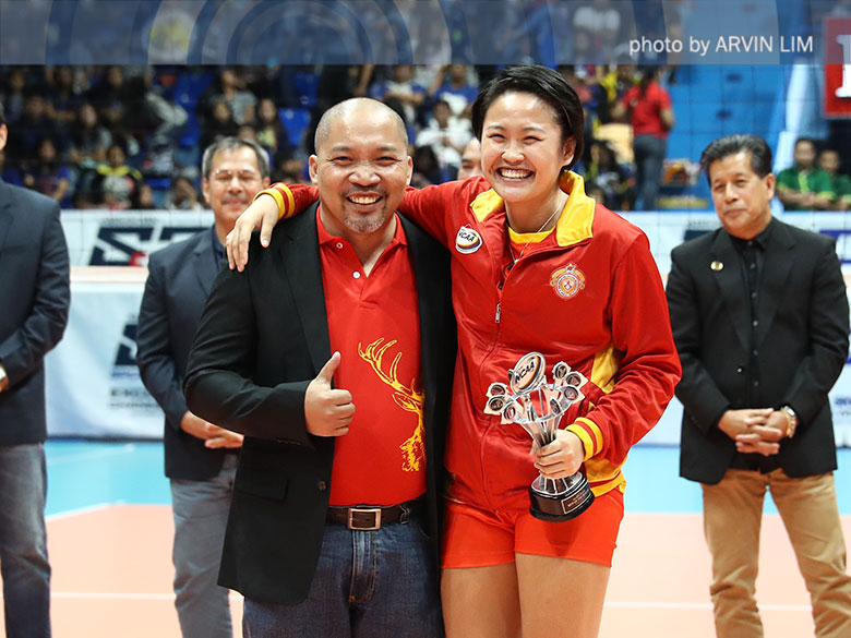 Soltones bags third straight NCAA Season MVP award