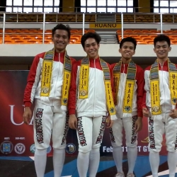 UE remains on course for a fencing five-peat